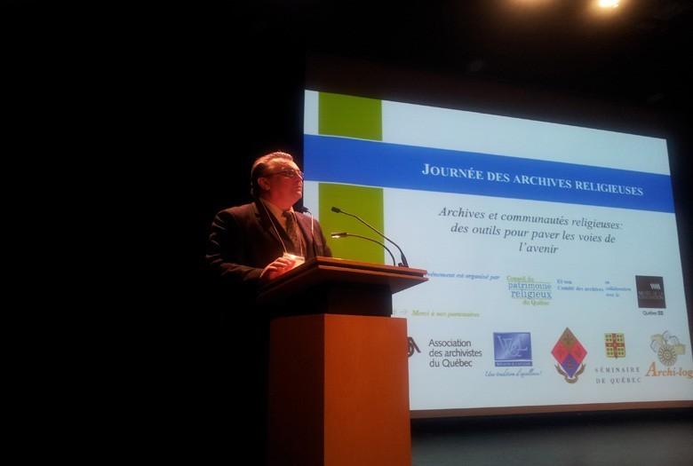 Conférence d'ouverture par Mario Dufour, conseiller en patrimoine religieux.