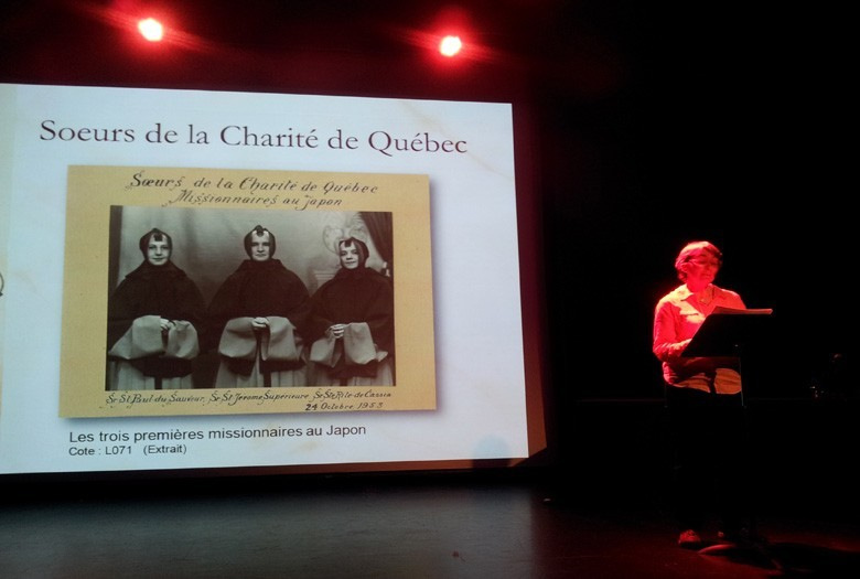 Activité d'archives à voix haute, par Hélène Élément
