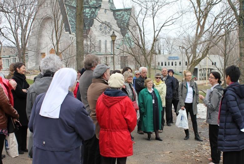 Visite du site du sanctuaire Notre-Dame-du-Cap