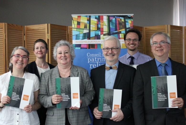 Lancement du Guide d'accès aux archives des communautés religieuses par le comité des archives