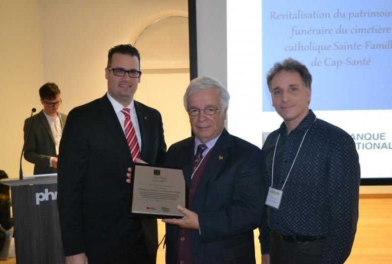 Conseil du patrimoine culturel de Cap-Santé, Lauréat dans la catégorie Mise en valeur