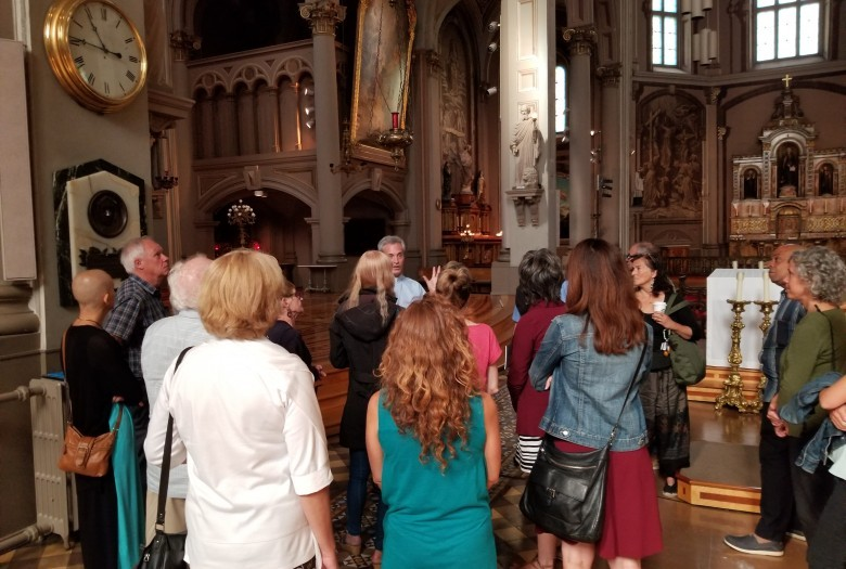 Guided tour, Gesù, Montreal