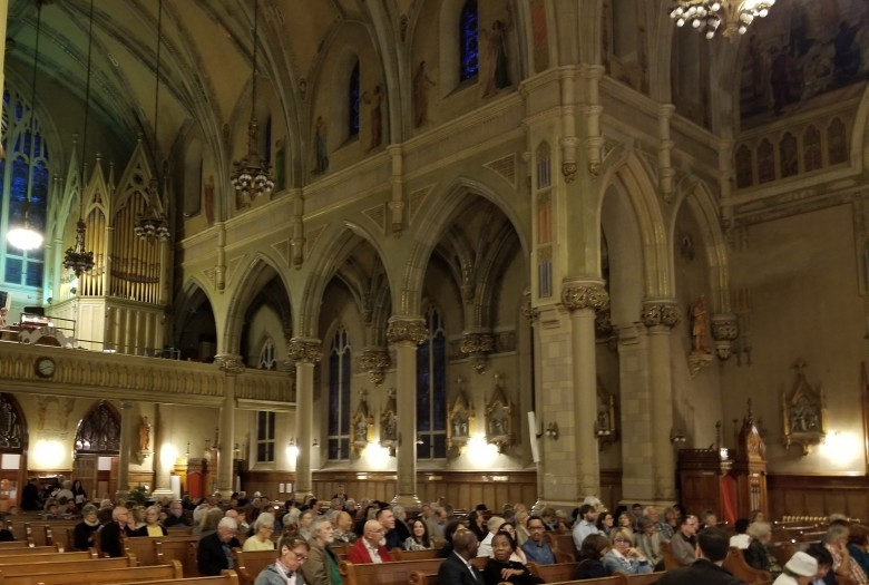 Concert at Saint-Viateur Church, Outremont