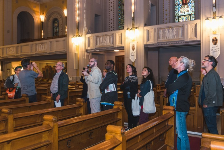 Guided tour, Saint-Esprit de Rosemont Church