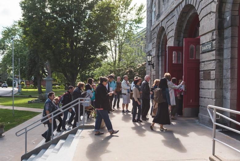 Guided tour, Sainte-Geneviève Church, Montreal