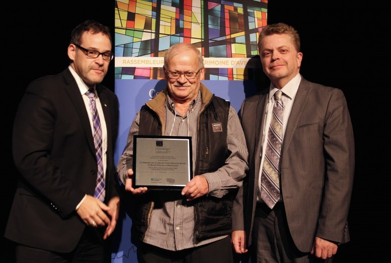 Saint-François-Xavier de Bassin (Iles-de-la-Madeleine) Winner in the category of projects of less than 250 000$