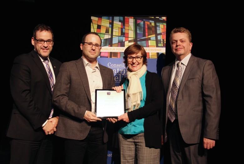 Fabrique de la paroisse Saint-Patrick de Montréal, lauréat dans la catégorie Restauration, projet de plus de 250 000$