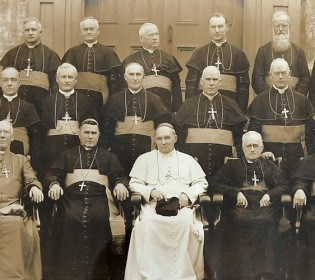 The stakes behind this rare photo of Canadian bishops from 1928