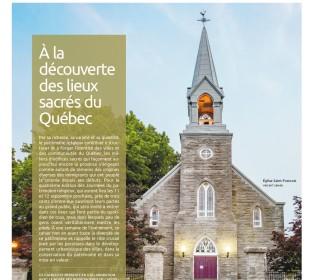 À la découverte des lieux sacrés du Québec