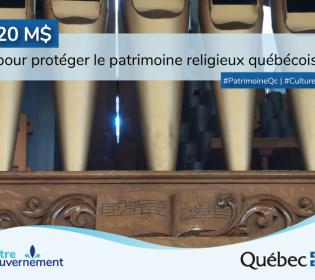 20M$ to protect Quebec's religious heritage