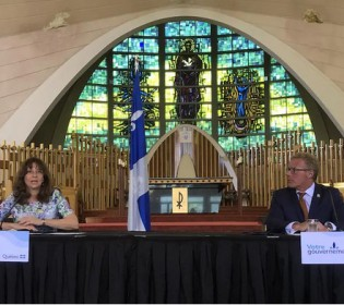 $ 15M for the restoration of religious buildings throughout Quebec