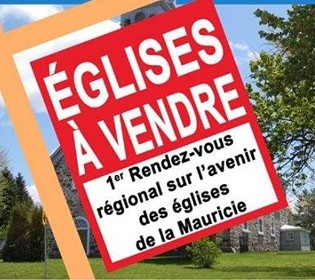 Gathering on the future of churches in Mauricie
