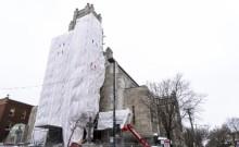 Photo: Josie Desmarais/Métro Média/L'église Saint-Esprit-de-Rosemont, rue Masson.